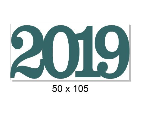 2019-50x105mm pack of 10
