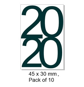 2020- pack 10 -45 x 30mm.