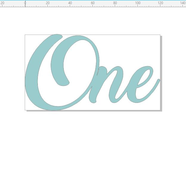 One in script  chipboard min buy 3  120 x 67mm