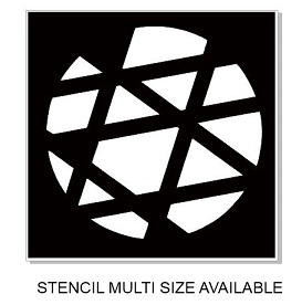 Stencil orbit2 multi size available min buy 3