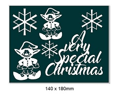 A very Special Christmas Elf. 140 x 180mm
