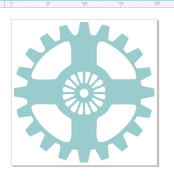 Large  single cog 200 x 200mm  min buy 3