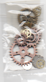 Mini cogs and watchparts 5 gram hang sell. All will be different