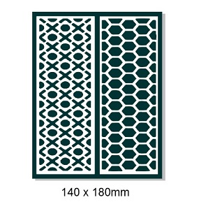 Maze 3 creative chipboard 140 x 180mm Min buy 3