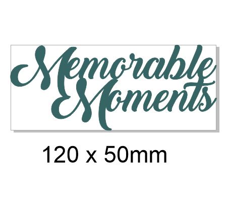Memorable moments 110 x 50.Pack of 5