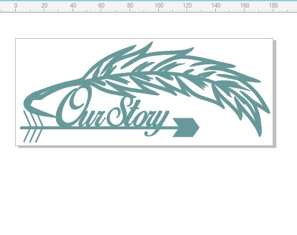 Our story Feathers arrows 180 x 75