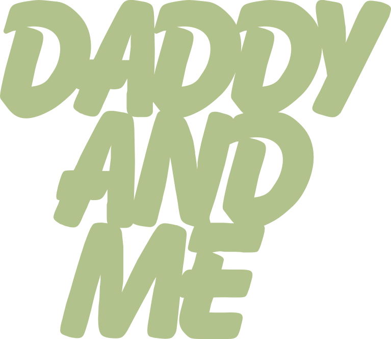Daddy and me 100mm x 86mm  min buy 3
